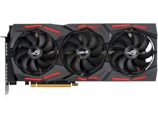 The Asus RX 5600 XT ROG Strix will also have the same VRAM, triple fan design and clock speeds.