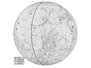 Lunar Heritage Sites Grail Final Path