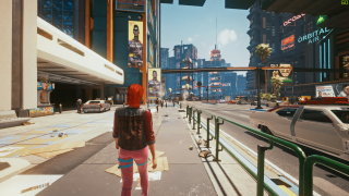 Cyberpunk 2077 third-person mod