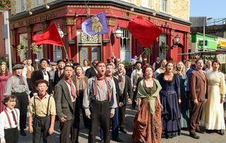 EastEnders cast on Children in Need