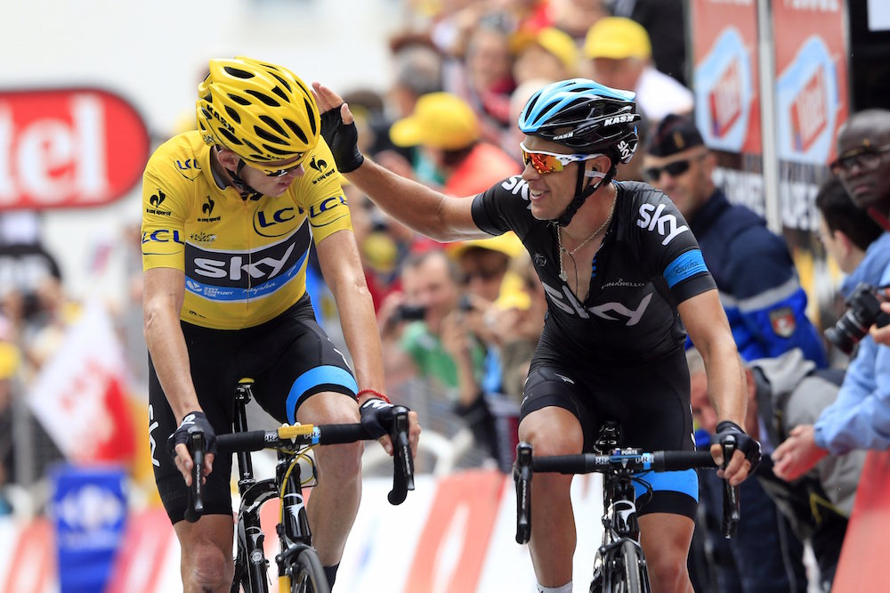 Chris froome offers grand tour advice to departing richie for Richie porte tour de france