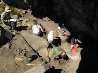 rockshelter excavations