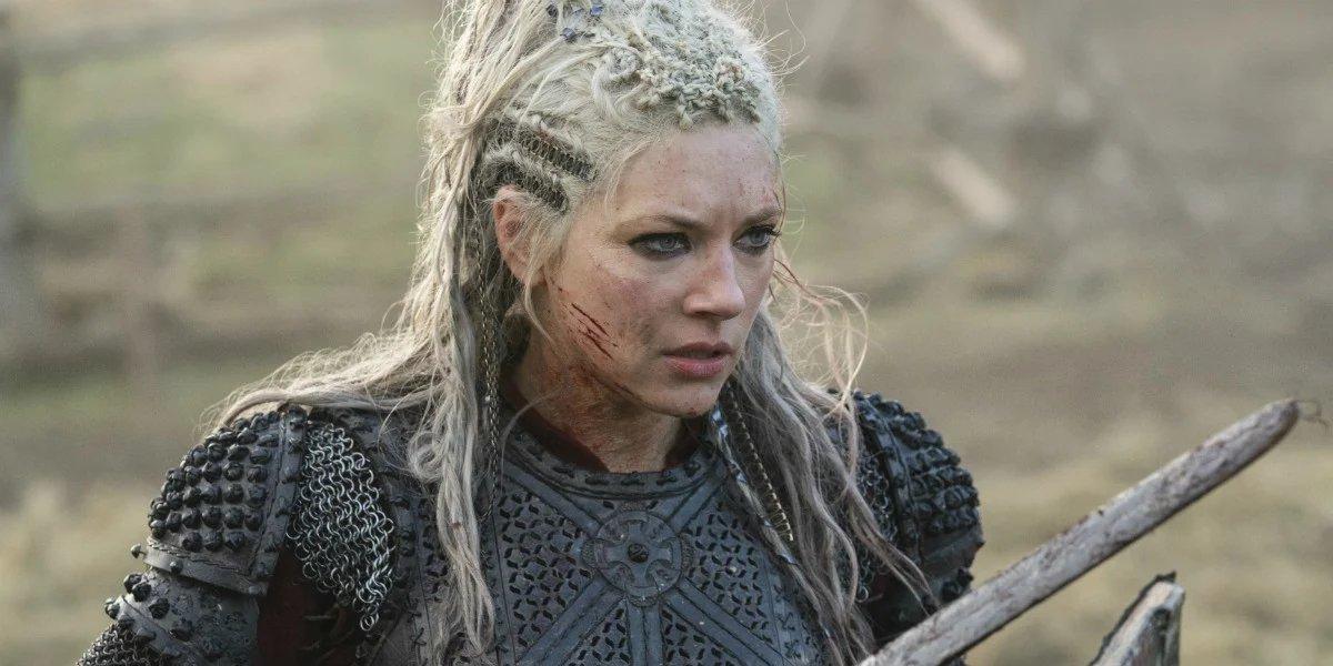 Katheryn Winnick on Vikings