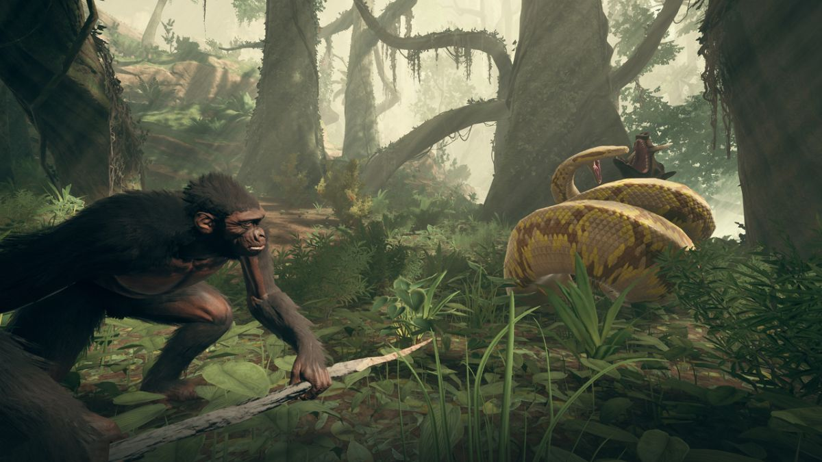 Ancestors: The Humankind Odyssey's new trailer emphasizes crafting your own evolution story