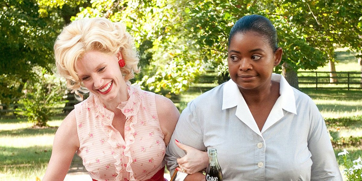 Jessica Chastain and Octavia Spencer in The Help
