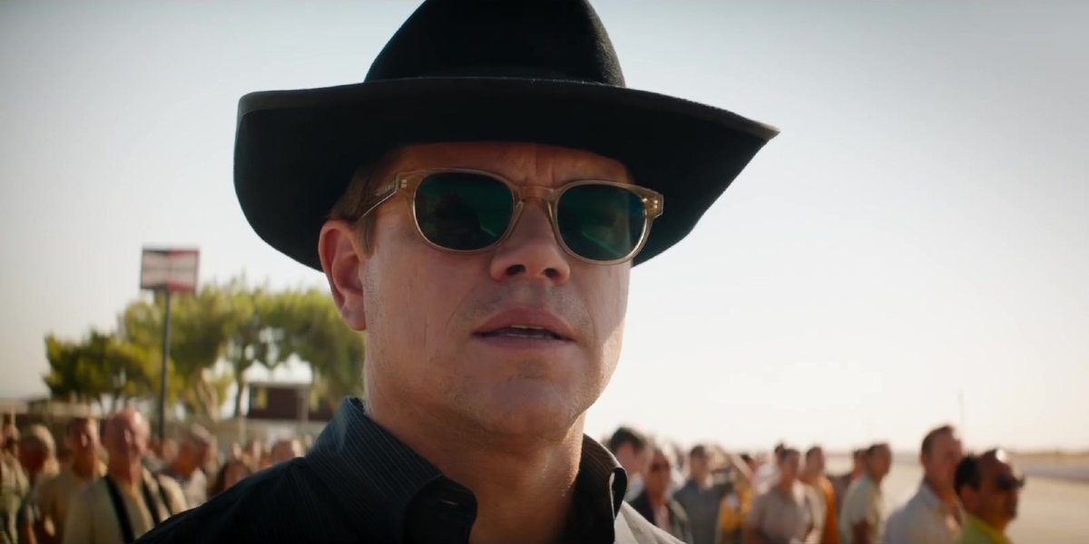 Matt Damon in Ford v Ferrari