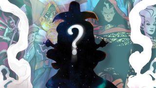 collage of candidates for Marvel's Sorcerer Supreme