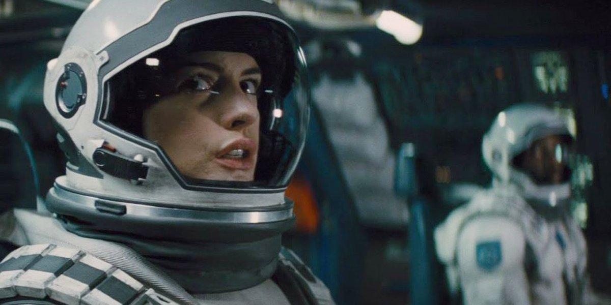 Anne Hathaway in Interstellar