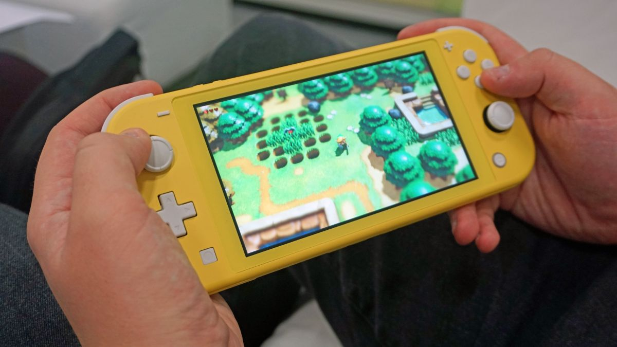 Hands on: Hands on: Nintendo Switch Lite review