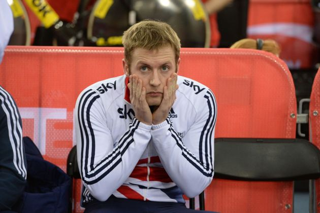 Jason Kenny Dumped Out Of Sprint Competition In First