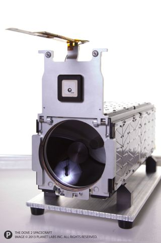 Planet Labs' Dove 2 Satellite