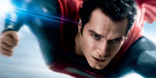 Superman flying in Man of Steel