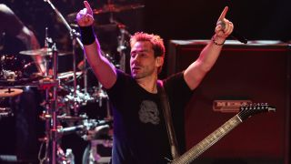 A pictyre of Chad Kroeger from Nickelback