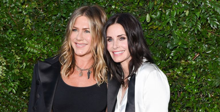 Jennifer Aniston and Courteney Cox attend CHANEL Dinner Celebrating Our Majestic Oceans