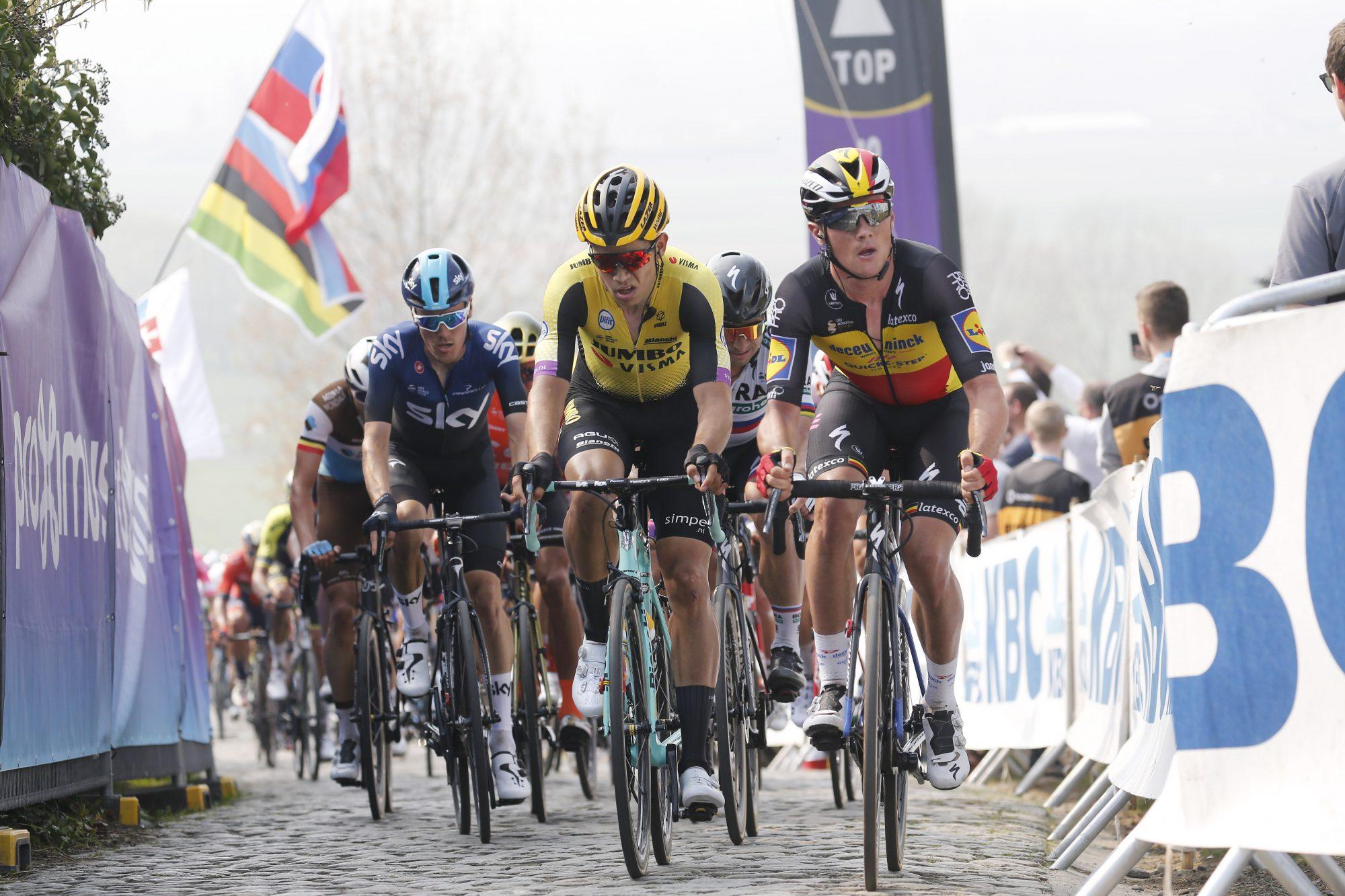 Wout van Aert criticises Peter Sagan after Tour of Flanders