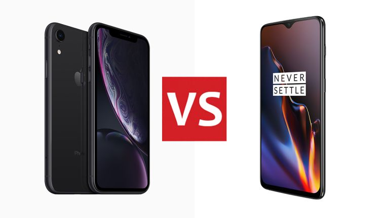 iPhone XR vs OnePlus 6T