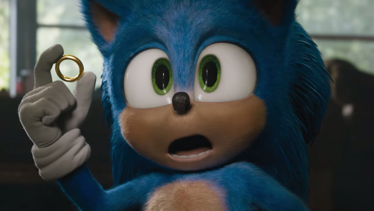 The New Sonic Movie Trailer Shows Off The Blue Blur S New Design Gamesradar