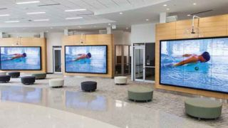 Video Walls, Multimedia Content Promote Wellness For Louisiana Community