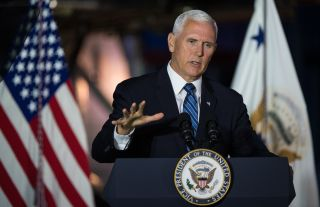 Pence discussed the progress and future of the program at the National Space Council on Aug. 20.
