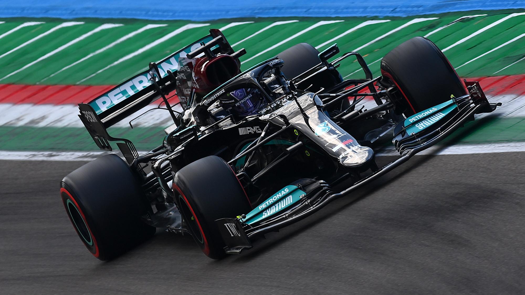 Lewis Hamilton at Emilia Romagna GP 2021