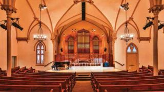Pro Sound & Lighting Outfits Historic Church With Alcons Audio System
