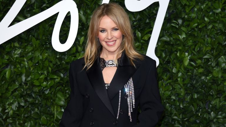 Kylie Minogue attends The Fashion Awards 2019 at the Royal Albert Hall on December 02, 2019