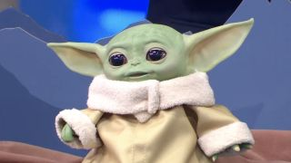 Meet the latest baby yoda toy you need right now. And it's only $60