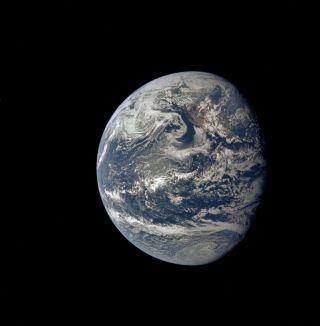 Apollo 11 Photo of Earth