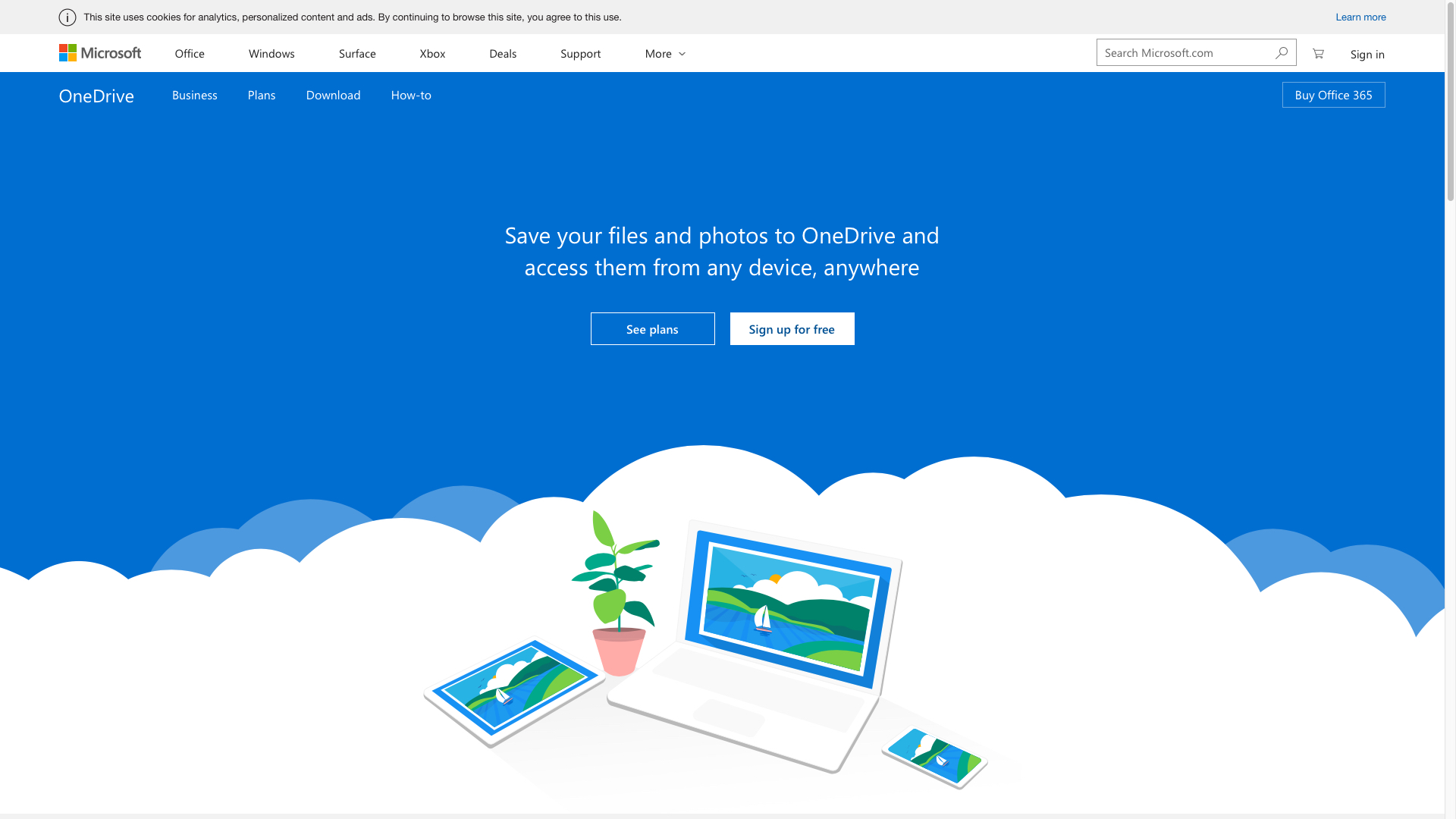 How to use Dropbox, OneDrive, Google Drive or iCloud as your