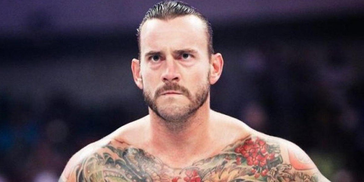 CM Punk, looking angry