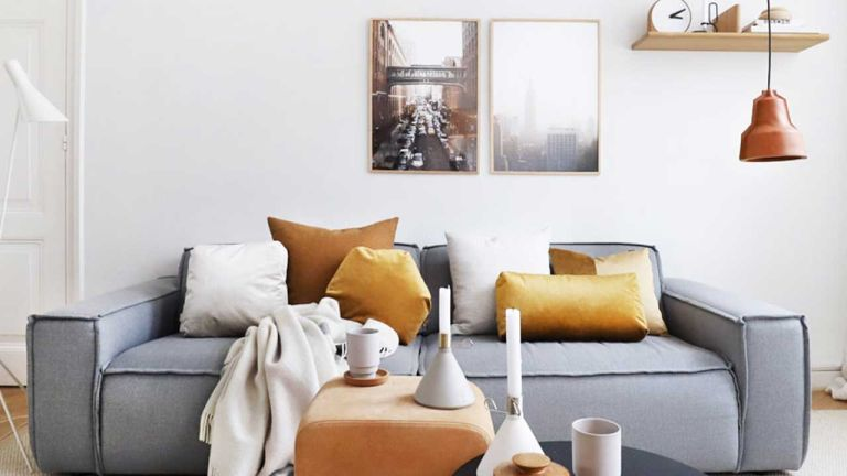 Fy photo of homeware items in living room