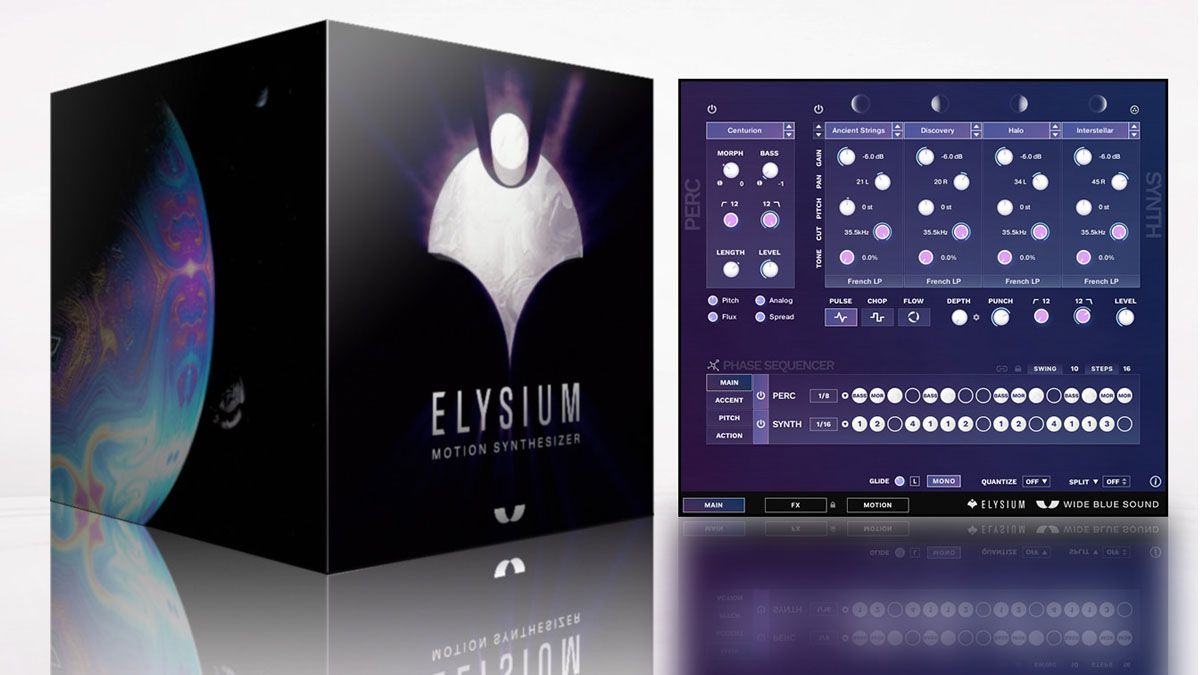 Wide Blue Sound launches new two-layer flagship synth, Elysium