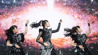 Babymetal at Glastonbury festival