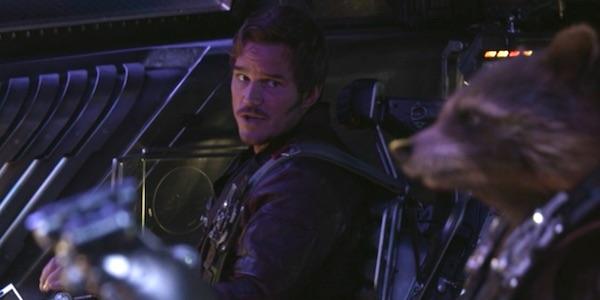 Peter and Rocket in Infinity War