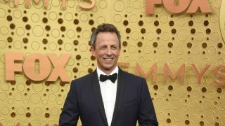 Comedian and talk show host Seth Meyers