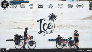 Ice & Palms film title screen on vimeo
