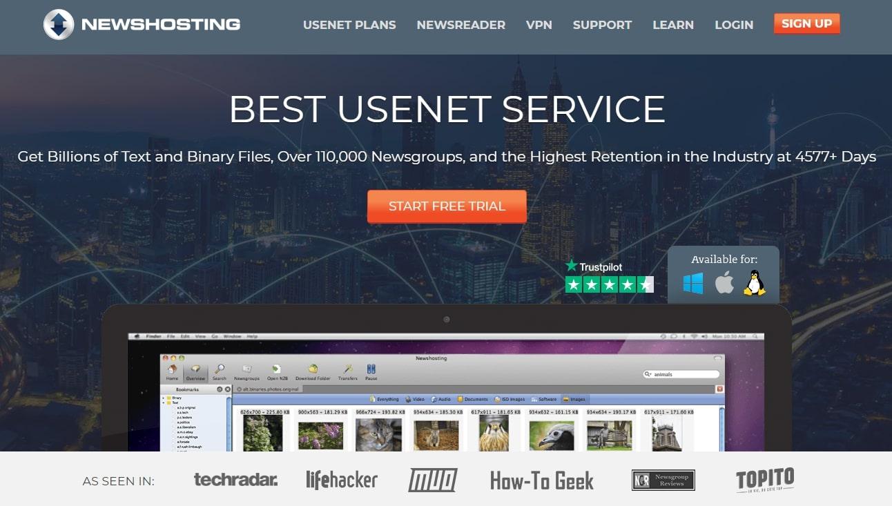 newshosting - best usenet provider