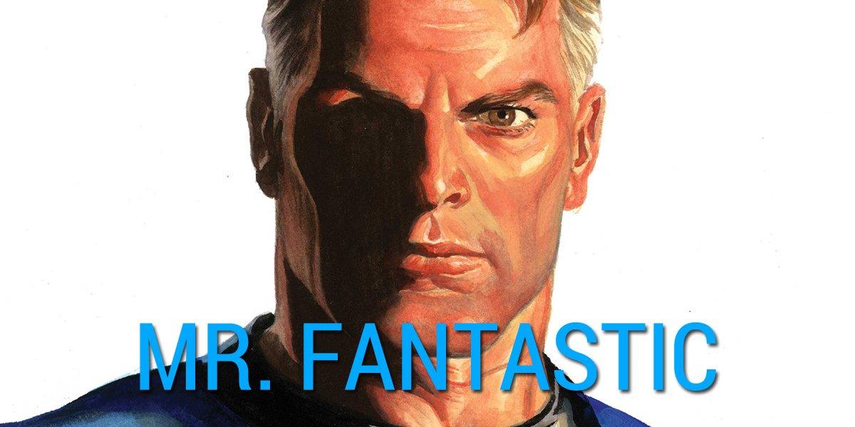 Mr. Fantastic Fantastic Four by Alex Ross