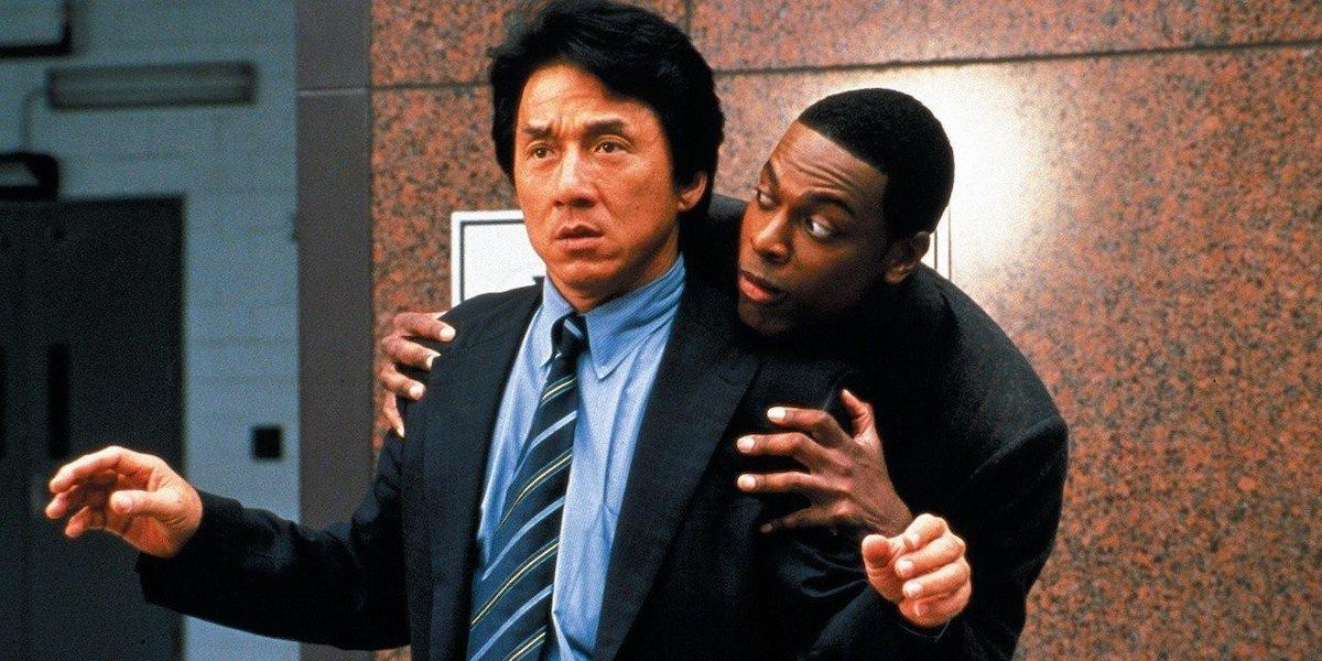 Jackie Chan and Chris Tucker in Rush Hour