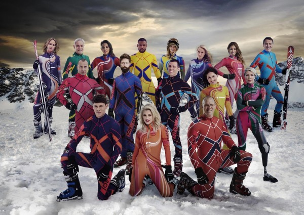 The contestants in The Jump