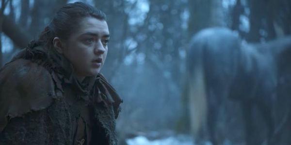 Arya Stark in the Season 7 trailer