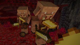 minecraft piglin brute trades