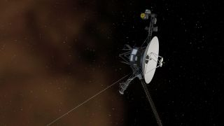 Voyager 1 Entering Interstellar Space Artist's Concept