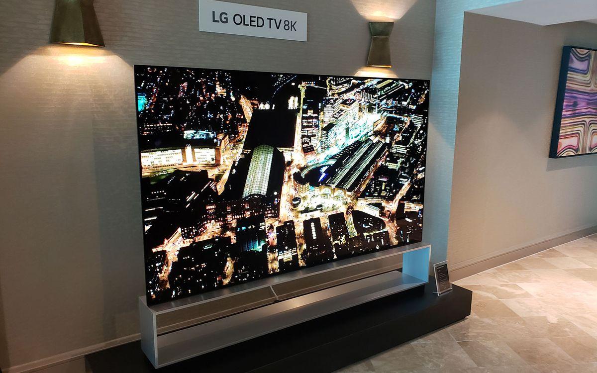 LG Shows off 8K OLED and Smarter 4K Sets for 2019 | Tom's Guide