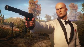 Agent 47 channels James Bond