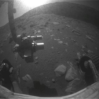Mars Rover Begins Climb Out of Vast Crater
