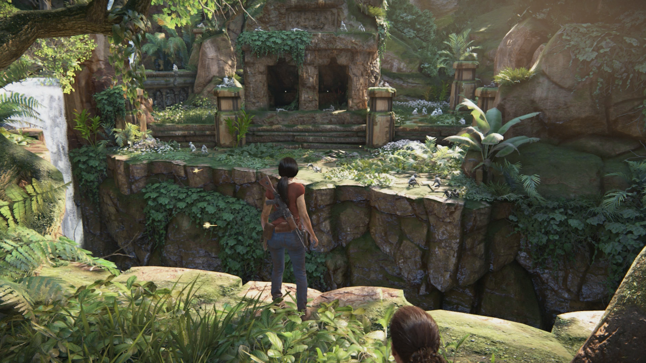 Uncharted The Lost Legacys White Monkey Temple How To Get In Ps4uncharted Legacy Reg 3 And What Is It Gamesradar