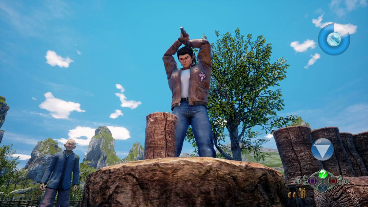 Some Shenmue 3 backers will have access to the backer demo this weekend