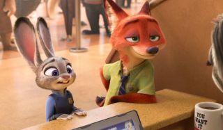 Zootopia Judy and Nick visit the DMV
