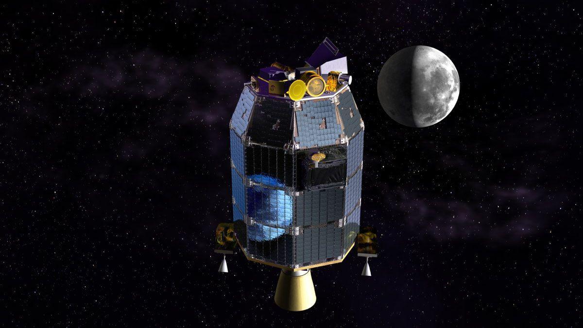 lunar dust in space - photo #11